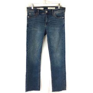 Anthropologie Pilcro Letterpress Slim Ankle Jeans